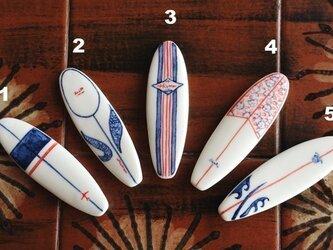 サーフボードの箸置き(ロング)の画像