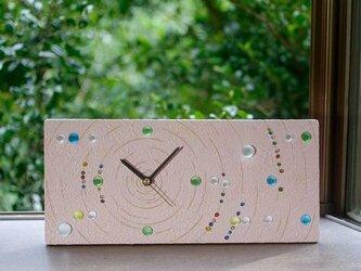 ビー玉の置き時計、掛け時計-8の画像