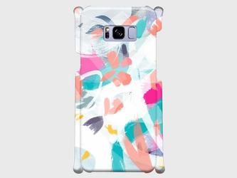 """アートペイント """"春のいろ""""  Galaxy S8等 大サイズスマホ対応 ハードケース の画像"""