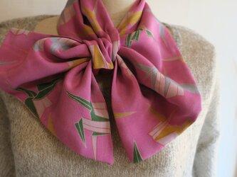 錦紗 リバーシブル変わりスカーフの画像