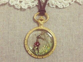 草食系ネックレス*キリンの画像