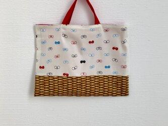 【sale】ちょうちょかごのレッスンバッグの画像