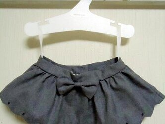 ダッフィーお洋服 スカラップスカートの画像