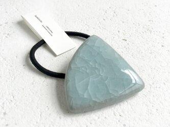 Triangle : 亀甲釉 : ヘアゴムの画像