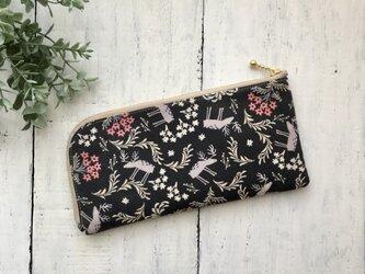 軽くて薄い♪L字長財布  お花の香りの画像