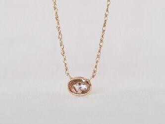 Antique Brown Diamond Necklaceの画像