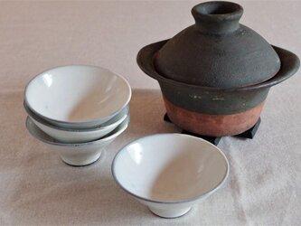 粉引のめし碗の画像