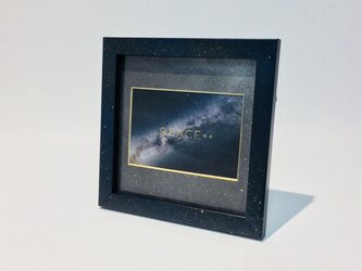 Galaxy Photo Frame (Small size) / 銀河柄フォトフレームの画像