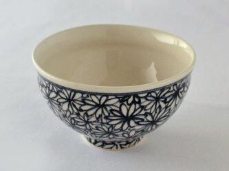 indigo 花詰 飯碗の画像