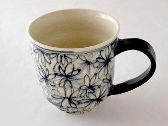 indigo 花詰 マグカップの画像