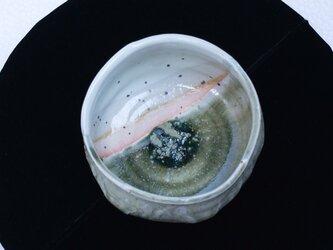 緑窯変伊賀想い 抹茶盌 3の画像