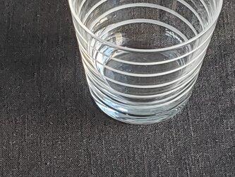 KIRIKO グラスミニ ボーダーの画像