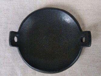 耳付き豆皿(黒)の画像