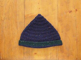 ツイードのとんがり帽子[おとな]の画像