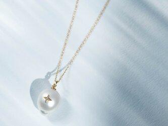 La Robe De La Mer-necklace-◇南洋パール×K18YG/PG×Diamond 0.007ctの画像