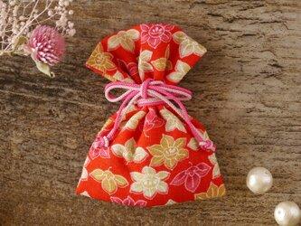 癒しの幸せ小物 きもの匂い袋<花柄> の画像