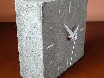 コンクリート置き時計 C-typeの画像