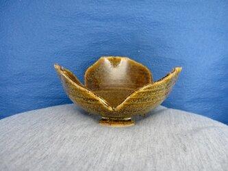 陶器 割山椒向付(そば釉)の画像