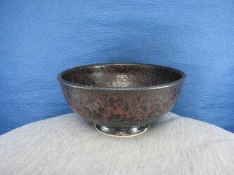 陶器ご飯茶碗(小)いらぼ釉の画像