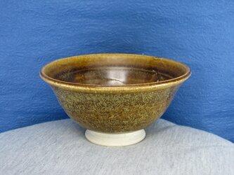 陶器ご飯茶碗(やや大)そば釉の画像