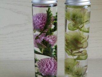 お花のハーバリウム 2本セット♬の画像
