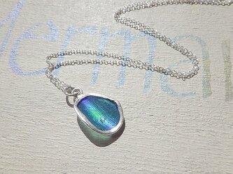 sv925フレーム ローマングラスの一粒ネックレス *SV925* Roman Glasの画像