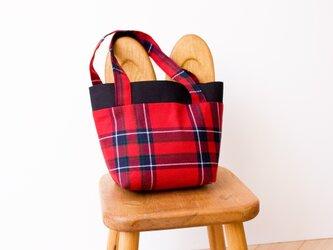 タータンチェックのミニトートバッグ【Inverness】の画像