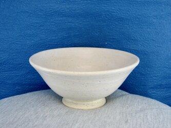 陶器ご飯茶碗(やや大)藁白釉の画像