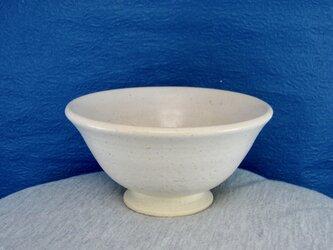 陶器ご飯茶碗(中)藁白釉その2の画像