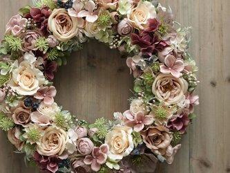 Wreath ~Antique2~ 40cm(造花)の画像