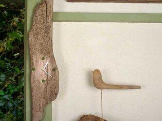 流木の時計-12の画像