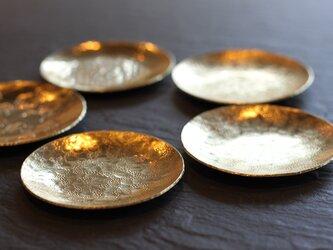 真鍮の豆皿の画像