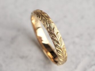 K10 Laurel wreath ring {R076K10}の画像
