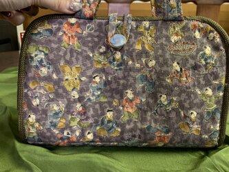 着物で作る*財布の画像