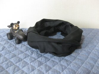 ダブルガーゼスヌード《ブラック・二重》の画像