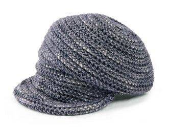 3つの帽子が1つに?一石三鳥のアレンジキャスケット グレー(18AWS-007)の画像