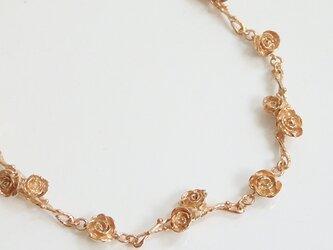 ローズガーデンブレスレット(pink gold)の画像