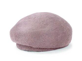18世紀のヨーロッパで愛された、ビーバーベレートーク帽 ベージュ(18AWN-001)の画像