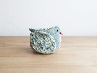 【B様ご予約済】『hinata』小鳥の小物入れの画像