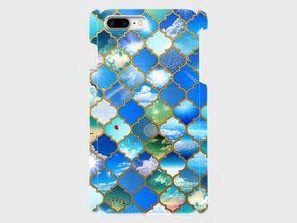 モロカンタイルパターン(百の空) iphone 6plus/7plus/8plus 専用ハードケースの画像