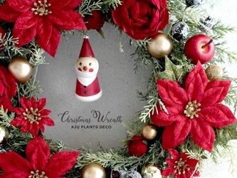 クリスマスリース(0118)27~33cm(造花)の画像