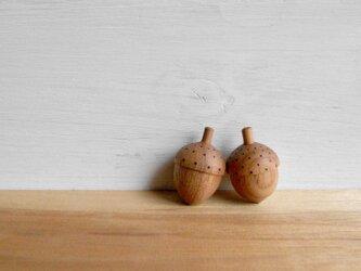 dancing tops ~どんぐり~ acorn  2個セットの画像
