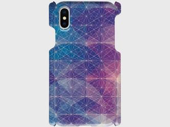 プリズム パターン(ブルーサークル) iphone 5/5s/6/6s/SE/7/8/X 専用 ハードケースの画像
