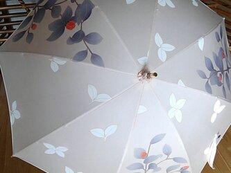 日傘 椿①の画像