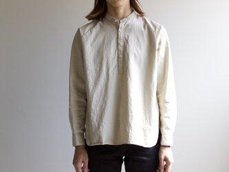 weather cloth/raglan shirt/beigeの画像