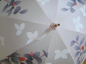 日傘 椿②の画像