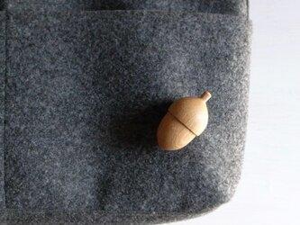 ブローチ acorn  ~シラカシ~の画像