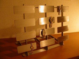 腕時計収納コレクションケース!24本掛け腕時計スタンドの画像