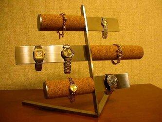 腕時計スタンド バー&コルク腕時計スタンド パート2の画像