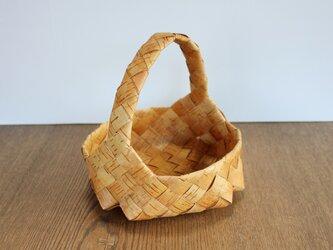 白樺のシナモンロールのためのパンかご【再販】の画像